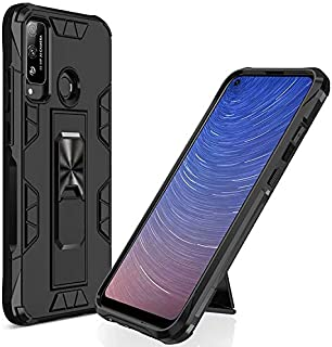 Soosos Case for Huawei Y8S Case Heavy Duty With Car Mount Invisible Kickstand PC+TPU Shockproof Rugged Protective Cover (B...