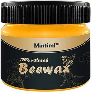 FiedFikt Furniture Cuidado del Suelo Cera de Abeja Madera condimento Beewax solución Completa Muebles Cuidado Cera de Abej...