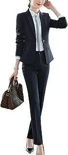 TrendyFashion da Donna Bianco e Nero a Strisce Cascata Blazer Giacca