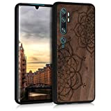 kwmobile Wooden Case Compatible with Xiaomi Mi Note 10 /