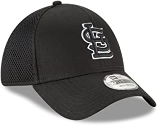 New Era Authentic St. Louis Cardinals Black Neo 39THIRTY Flex Hat