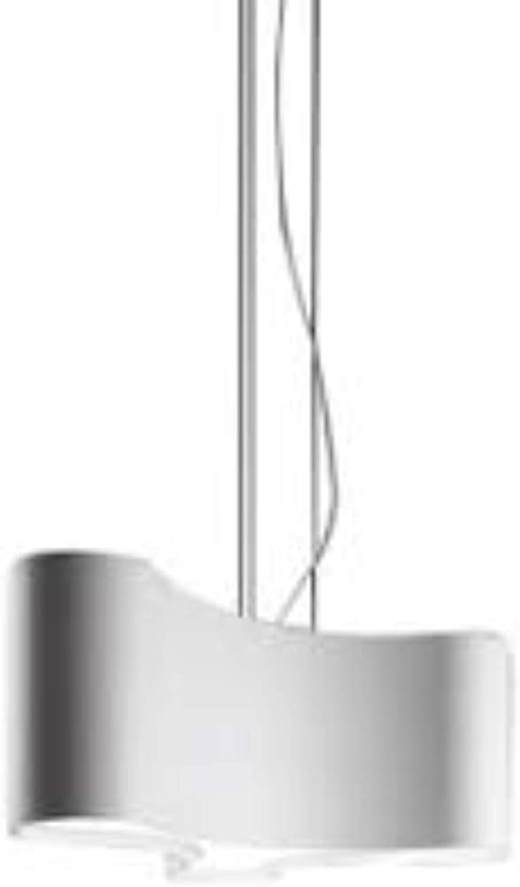 Vibia,lampada a sospensione regolabile 2 led 9 2w 500ma con diffusore in metacrilato serie ameba 220003