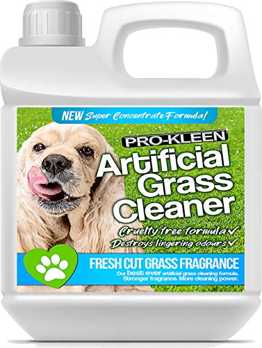 Pro-Kleen Artificial Grass Cleaner For Dogs (10:1 Super Concentrate Makes 10 Litres) Disinfectant and Deodoriser (Fresh Cut Grass, 1L)