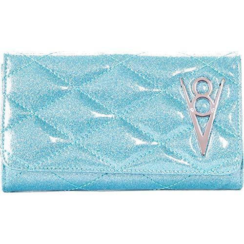Lux De Ville Hot Rod Wallet Mermaid Blue Sparkle