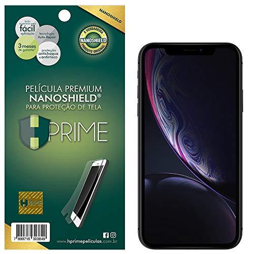 Pelicula NanoShield para Apple iPhone XR, HPrime, Película Protetora de Tela para Celular, Transparente