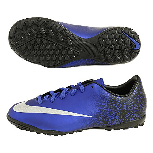 Nike Jr Mercurial Victory V CR TF - Botas para niño, Color Azul/Negro