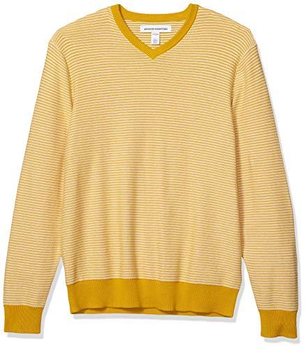 Amazon Yellow Sweater Men's