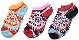 Jefferies Socks Little Girls Batik-Socken, niedrig geschnitten, 6 Stück - mehrfarbig - X-Small