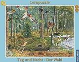 KOSMOS 731144 El Bosque de día y de Noche - Puzzle (60 Piezas)