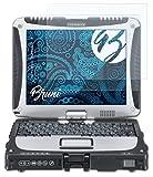 Bruni Schutzfolie kompatibel mit Panasonic ToughBook CF-19 Folie, glasklare Bildschirmschutzfolie (2X)