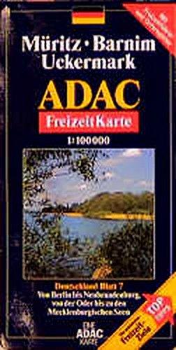 ADAC FreizeitKarte, Bl.7, Müritz, Barnim, Uckermark (ADAC Freizeitkarten)