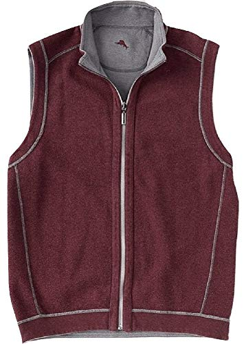 Tommy Bahama Flipshore Full Zip Vest Spa Stone XL
