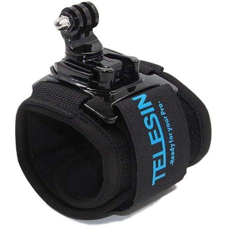 Telesin 360 Grad Rotary Arm Handschlaufe Handgelenk Kamera