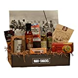 ManSnacks - WHISKEY SNACKS - A Manly Assortment Of Food And Gear For The Whiskey Lover, All Packed In A Fun, Manly Gift Box. It's A Gift Basket For Real Men.