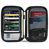 tomtoc Family Passport Holder with a Sim Card Holder and Eject Pin, RFID