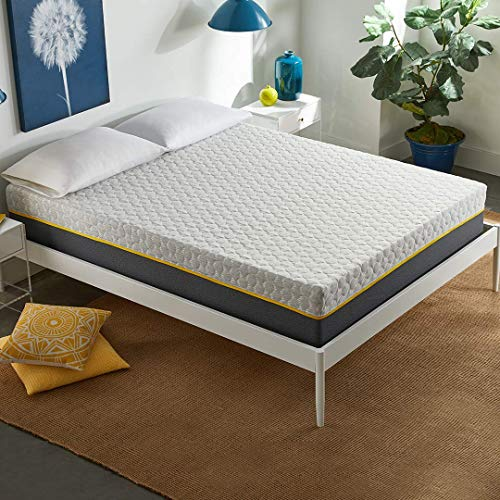 Early Bird 12-inch Hybrid Memory Foam and Spring Mattress, Medium Plush Comfort, Bed in Box, CertiPUR-US Certified Foam, No Harmful Chemicals, Handcrafted in The USA, 10 Year Warranty, Queen