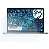 Bruni Schutzfolie kompatibel mit Apple MacBook 12 inch 2017 Folie, glasklare Bildschirmschutzfolie (2X)