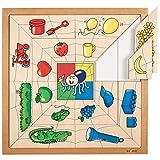 Puzzle de arañas – colores