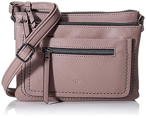 TOM TAILOR Umhängetasche Damen Becky, Pink (Old Rosé), 23x17x3 cm, TOM TAILOR Handtaschen, Taschen für Damen, klein