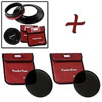 WonderPana XL Essential NDキット–コアフィルタホルダー、レンズキャップ、186mm nd16& nd32Filters for Canon EF 11–24mm f / 4l USMレンズ(フルフレーム35mm)