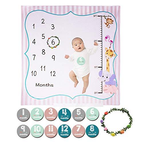 Bebé Manta Mensual Hito