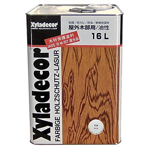 日本エンバイロ キシラデコール/高性能木材保護着色塗料 ワイス 16L (153953)