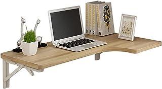 Bureau d'ordinateur pliable mural d'angle Table suspendue peu encombrante pour la cuisine de balcon de buanderie de chambr...