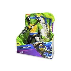 Las Tortugas Ninja 2 - Hablar Deluxe Figura - Leonardo ...