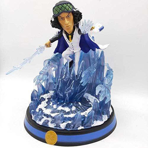 Zqcay Figuras De Accion Tres Almirantes De La Armada Gk Dos Espinas Lanza Iceman Blue Pheasant Figure Modelpvc Figuras De Accion Coleccion Modelo De Juguete