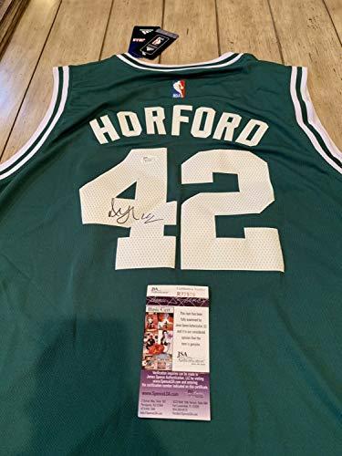 Authentic Autographed Al Horford/Jersey JSA COA Boston Celtics