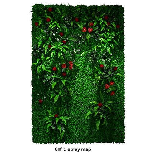 Rasen PING- Künstliche Hecken, Pflanzenschutzzaunschirm Begrünt Paneele,  for Familiengeschäft Dekoration Im Freien 1㎡, 2㎡, 3㎡, 4㎡, 5㎡, 6㎡ Optional (Color : 2Square Meter)