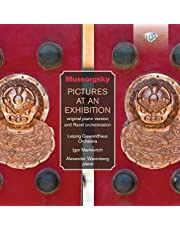 Moussorgski: Pictures at an Exhibition for Orchestra & Solo Piano