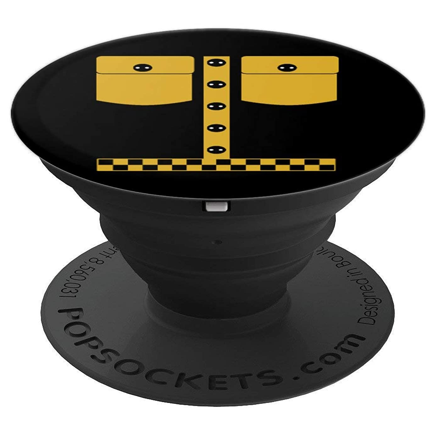 Cabbie Taxi Driver Cab Driver Taxidriver Men Women PopSockets Grip and Stand for Phones and Tablets