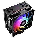 ID-COOLING SE-224-XT-ARGB-V2 CPU Cooler AM4 Addressable RGB CPU Cooler 5V 3PIN RGB Cooler 4 Heatpipes CPU Air Cooler 120mm PWM Fan, Intel/AMD