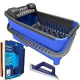 Peygran - Kit de limpieza: Cubo de 20 litros equipado con un sistema de rodillos que garantiza un...