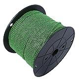 Cable de paracaídas, Yevenr Cuerda de Escalada estándar Cuerda de Camping Cuerda de paracaídas Cuerda de Escalada al Aire Libre de 9 núcleos para Acampar(Green-100 Millones)