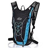 Outdoor-Rucksack Wasserdichter, atmungsaktiver Trinkrucksack hält Flüssigkeit bis zu 4 Stunden kühl Perfekter Rucksack Wandern, Radfahren, Mountainbiken und Skifahren 7L für Männer und Frauen
