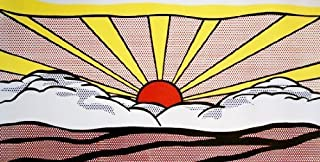 artrepublic.com Sunrise Art Print by Roy Lichtenstein, 50cm x 100cm