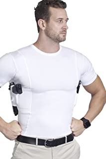 AC Undercover Concealed Carry Crew Neck Tshirt/CCW Tactical Clothing/Concealed Clothing REF. 511