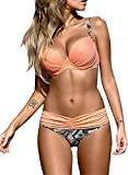 Astylish Women's Push Up Two Piece Bikini...