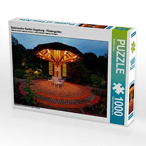 CALVENDO Puzzle Botanischer Garten Augsburg - Käutergarten 1000 Teile Lege-Größe 64 x 48 cm Foto-Puzzle Bild von Martina Cross
