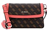 Guess Borsa tracolla Camy Crossbody Flap brown/multi B21GU24