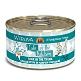 Weruva Cats In The Kitchen, Funk In The Trunk With Chicken In Pumpkin Consomme Cat Food, 3.2Oz Can (Pack Of 24)