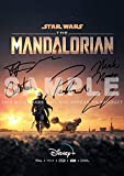 Iconic Images Star Wars The Mandalorian TV Show Print 5 Cast Sigs (11.7' x 8.3')