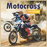 MOTOCROSS CALENDAR 2022: Motocross Calendar 2022,12 months, Sport Motorcycle , Square 2022 Calendar