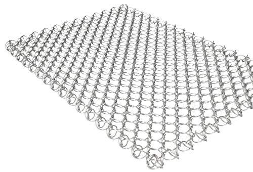 KOTARBAU® Felpudo de malla de alambre, 40 x 60 cm, resistente, felpudo para la puerta de los zapatos