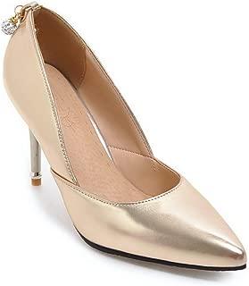 BalaMasa Womens APL12417 Pu Heeled Sandals