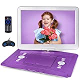 """Best Kids Dvd Players - Jekero 17.9"""" Portable DVD Player with 15.6"""" Large Review"""