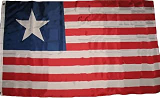 ALBATROS 3 ft x 5 ft Texas Navy Texan Revolution 1838-1846 Naval Jack Premium Flag Banner for Home and Parades, Official Party, All Weather Indoors Outdoors
