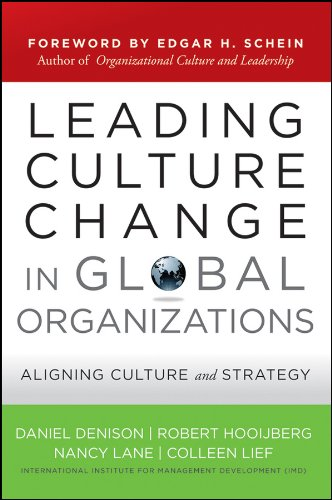 Leading Culture Change in Global Organizations: Aligning Culture and Strategy (J-B US non-Franchise Leadership Book 394) (English Edition)